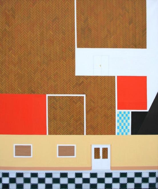 Almost Vajda Péter - 120×100 cm - oil and canvas - 2013
