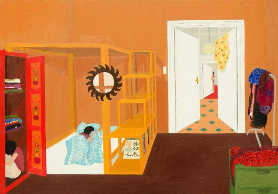 Hide and seek - 50×70 cm - oil and canvas - 2011