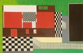 Velencefürdő II. - 75×115 cm - oil and canvas - 2012