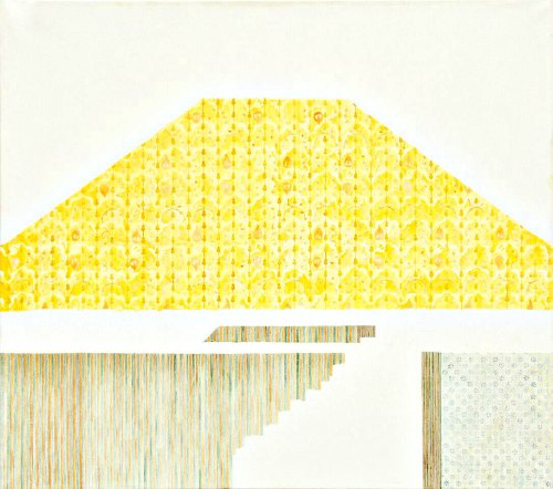 Yellow Wallpaper - 90×100 cm - oil and canvas - 2014